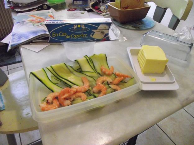 Fromage frais, courgette et crevette dans * apéro recette-fromage-frais-courgette-crevette-1