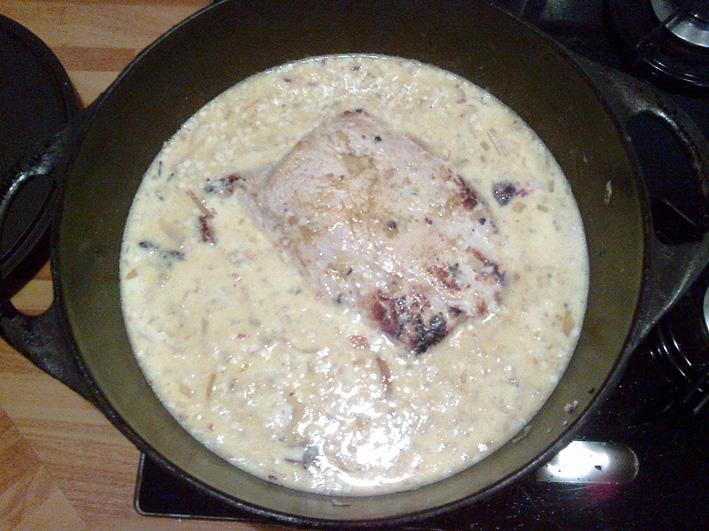 recette-roti-de-porc-au-lait-epice-4 rôti de porc