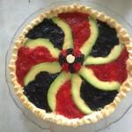 Tarte rouge et noire dans * entrées froides recette-tarte-rouge-et-noire-5-150x150