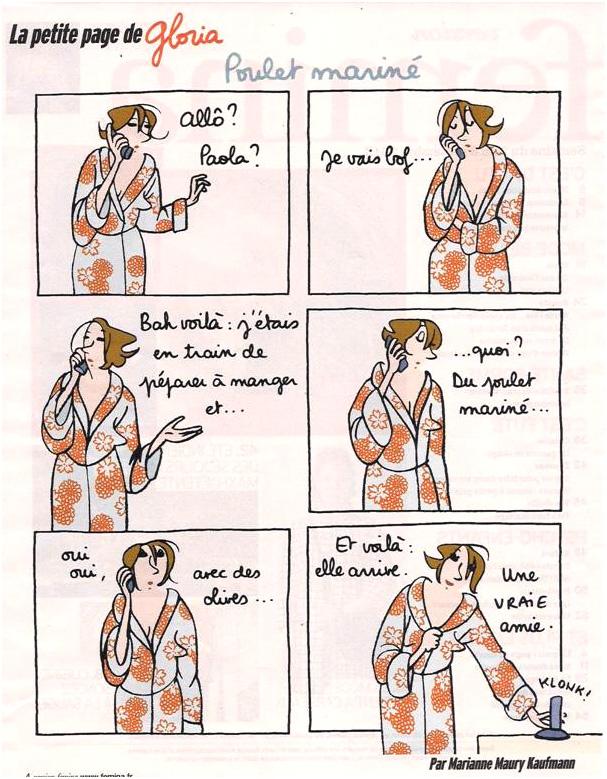 Ah ! les copines ! dans Coupures de presse gloria-35