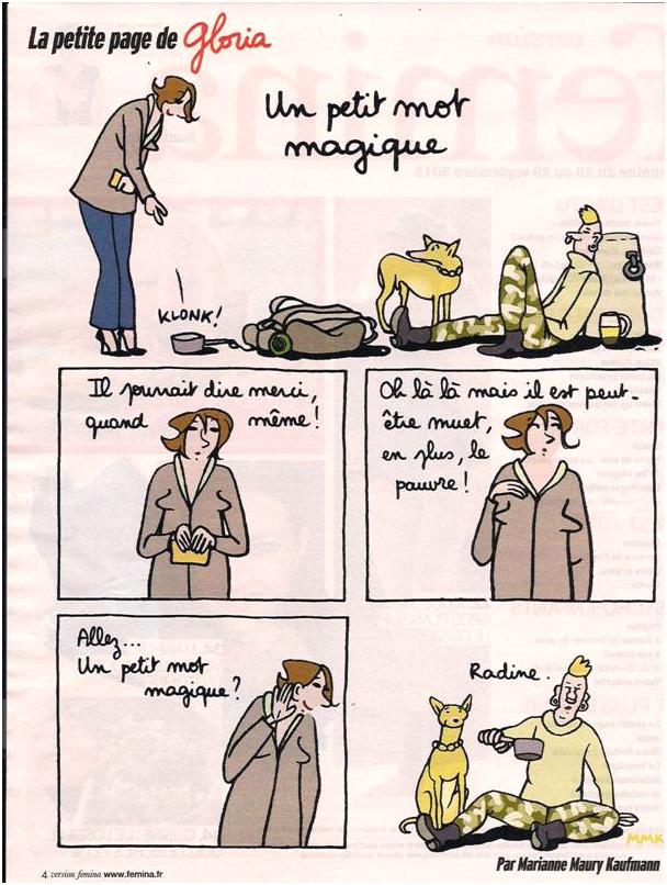 Le mot magique dans Coupures de presse gloria-37