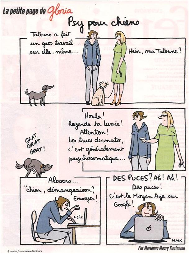 Un métier d'avenir : psy pour chiens dans Coupures de presse gloria-41