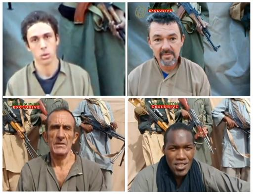 Quatre otages français libérés dans Divers otages