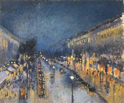 pissarro_boulevard_montmartre1818 impressionniste dans Souvenons-nous...