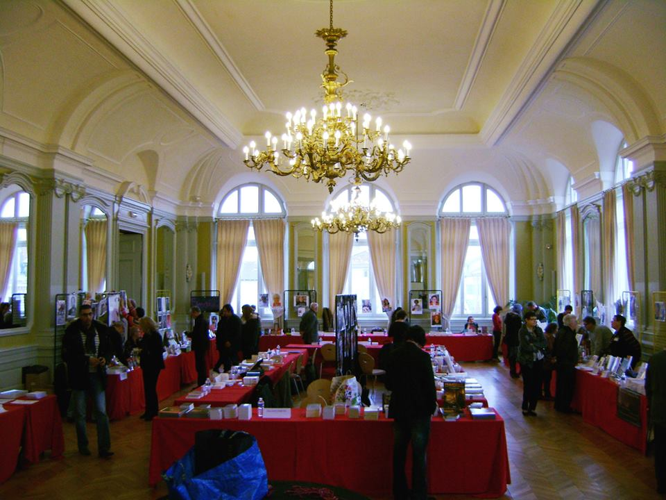 La grande salle du Salon des Halles