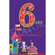 Joyeux anniversaire ! dans Bilan 6-ans