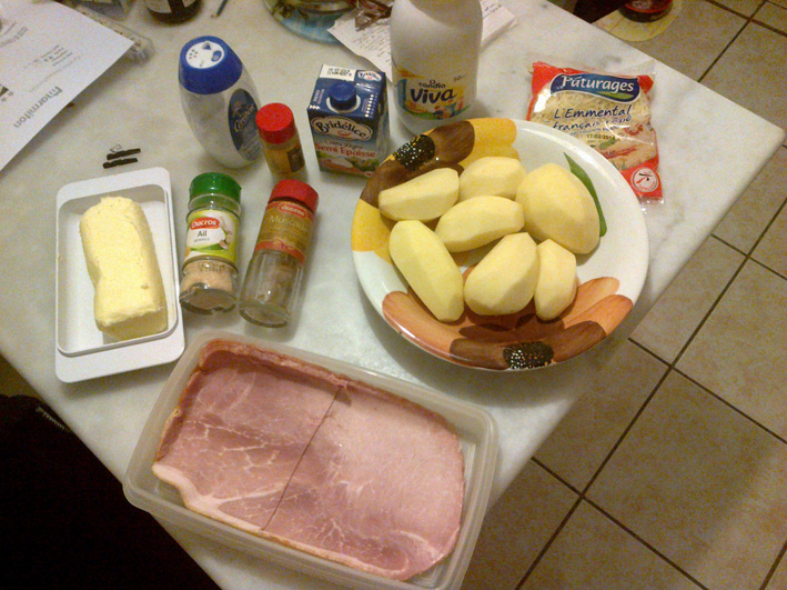 Recette gratin dauphinois 1