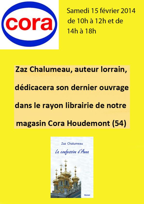Affiche Cora fév 14