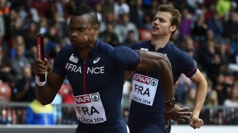 4x100 m relais masculin