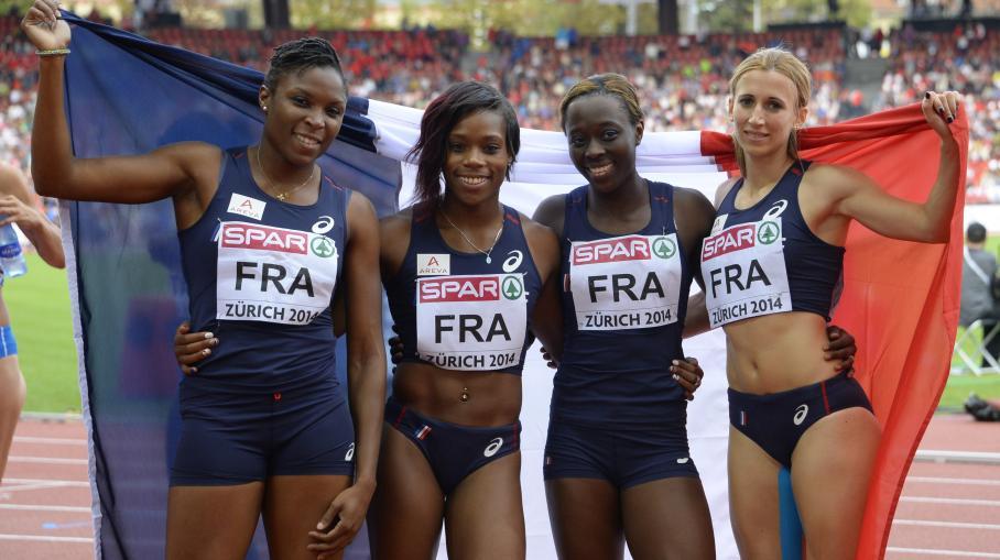 4x100m relais féminin