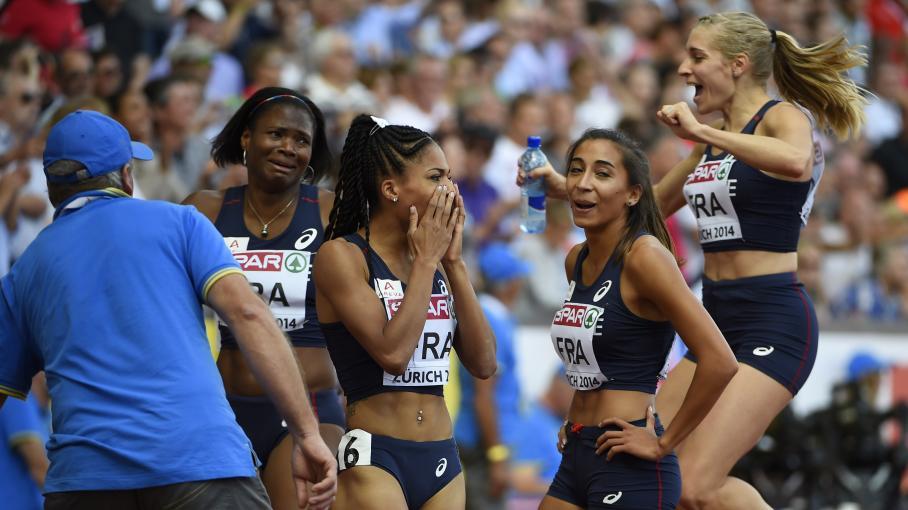 4x400m relais féminin
