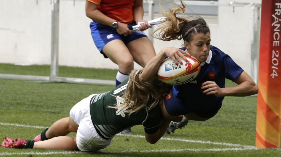 rugby féminin 3e place