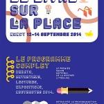 Affiche Livre sur la Place 2014