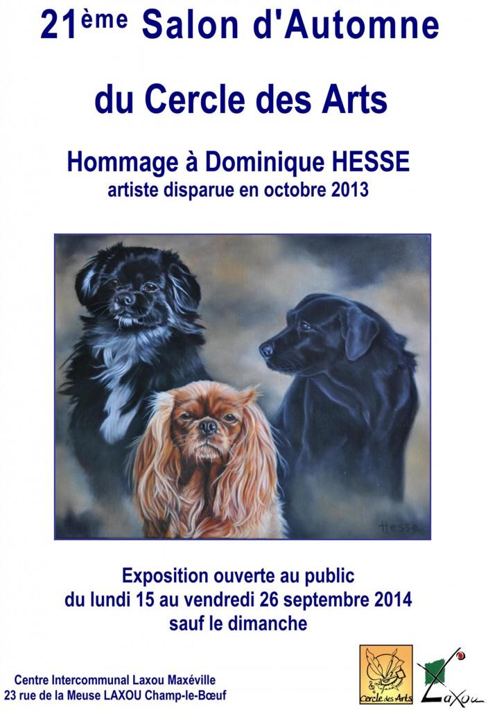 Affiche Salon d'Automne 2014