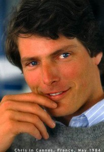 Actor Christopher Reeve Smiling