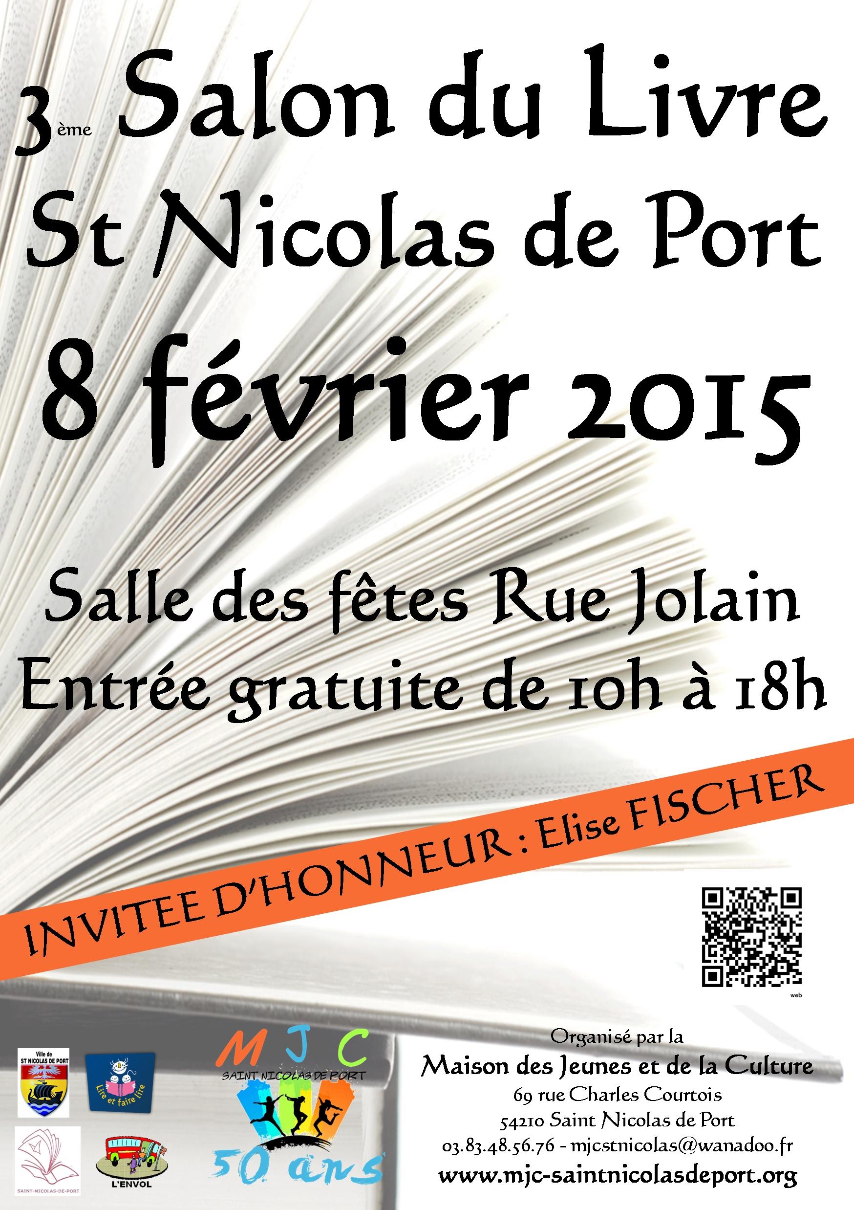 Saint nicolas de port ecrivain public zaz et plus - Salon du livre troyes ...