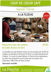 Café littéraire à Chaligny