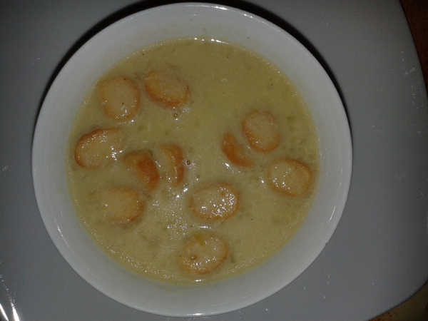 Recette soupe à l'ail 3