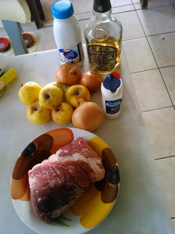 Recette porc aux pommes 1