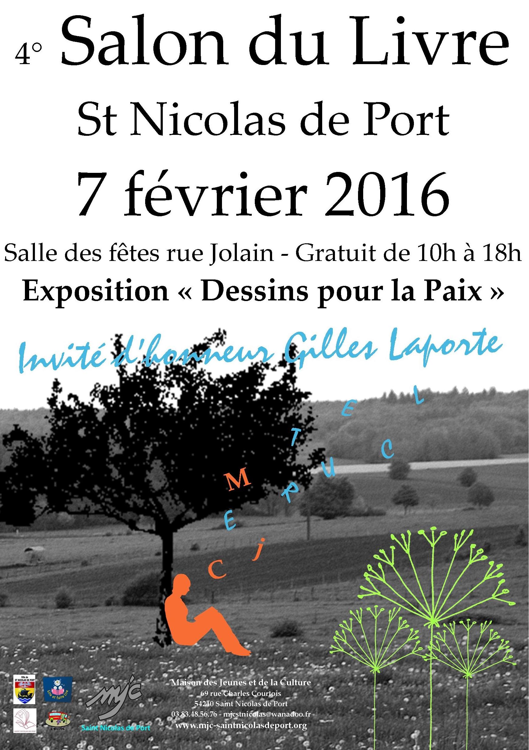 Saint nicolas de port ecrivain public zaz et plus for Salon du livre politique