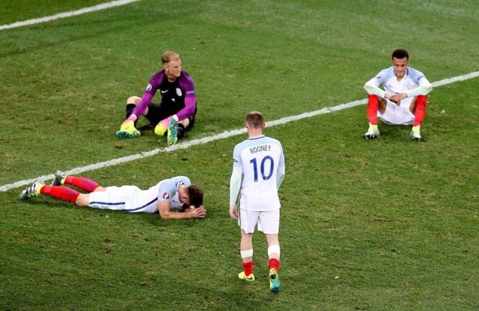Round of 16 England vs Iceland