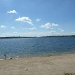 Le lac de Pareloup juin 16
