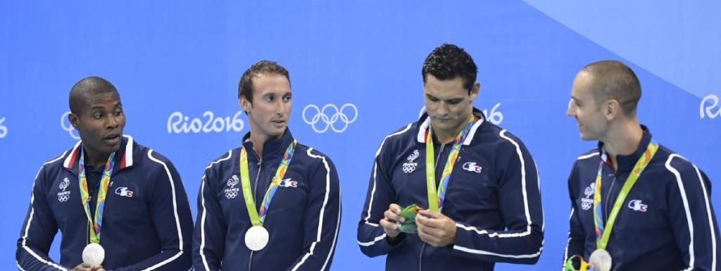 médaille argent natation