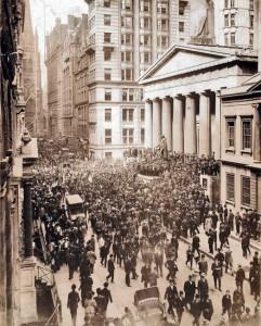 panique des banquiers